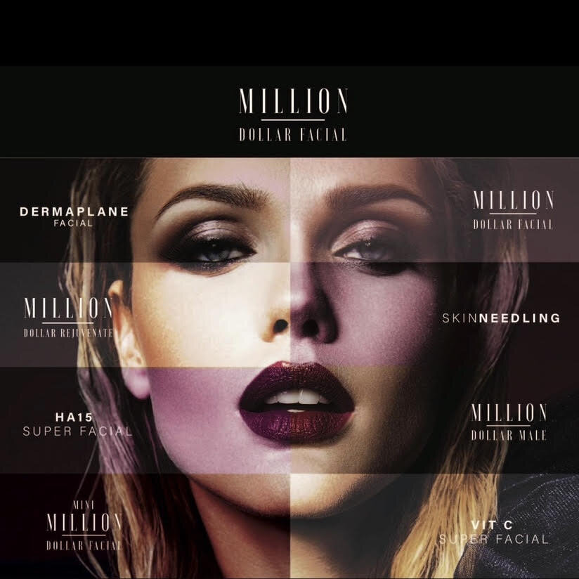 MILLION DOLLAR TREATMENTS - click for prices